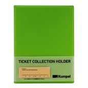 【kumpel】チケットコレクションホルダー(ライトグリーン)