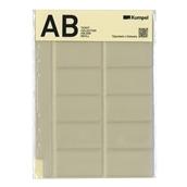 【kumpel】 チケットコレクションホルダーリフィル(AB型)