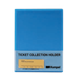 【kumpel】チケットコレクションホルダー(ブルー)