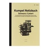 【kumpel】B6ノート Notizbuch ブラック 横罫