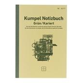 【kumpel】B6ノート Notizbuch グリーン 方眼