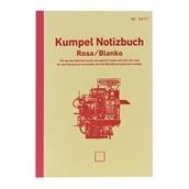 【kumpel】B6ノート Notizbuch ピンク 無地