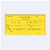 【kumpel】チケットケース きっぷ イエロー