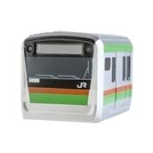 【スマ鉄】 鉄道車両型USBCharger  E233系 湘南色(1A)