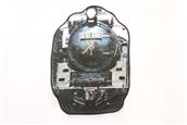 【レールヤード】train リアルモチーフタオル   D51