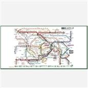 JR東日本東京近郊路線図ビッグタオル2018