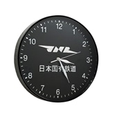 先行予約!!【JNR】日本国有鉄道ロゴマーク ウォールクロック(壁掛け時計)