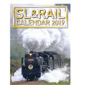 【ポイント5倍】先行予約販売!!◆2019 SL&RAILカレンダー