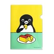 【Suicaグッズ】Suicaのペンギンクリアファイル(カステラ)