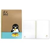 【Suicaグッズ】Suicaのペンギンリングノート(カステラ)