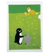 【Suicaグッズ】Suicaのペンギン クリアファイル(キタキツネ)
