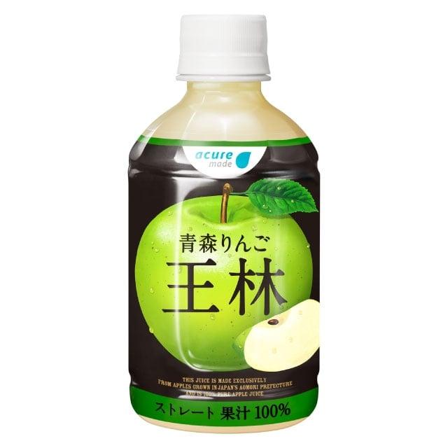 青森りんご 王林 280ml PET×24本入り