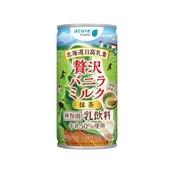 贅沢バニラミルク 抹茶 190g缶×30本入り 送料無料