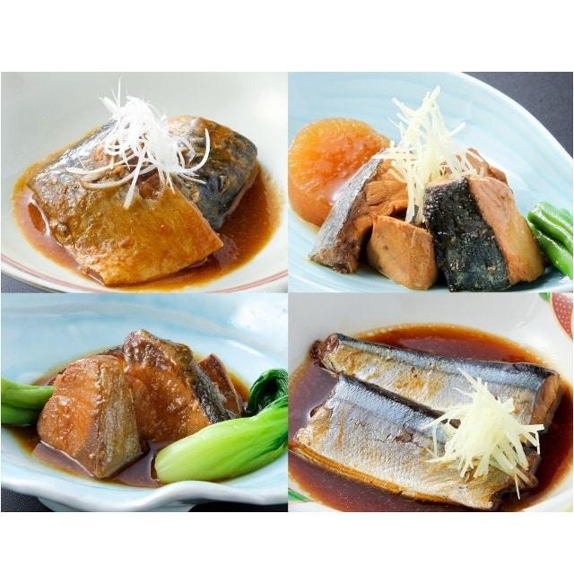 三陸海彩 和風煮魚セット(簡易包装)