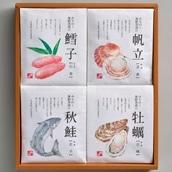 鐘崎 みちのく海鮮茶漬け詰合せ 茶漬け-8A<2019冬ギフト>