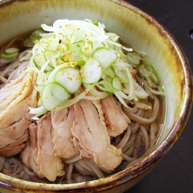 生・たまやの冷たい肉そばセット(玉谷製麺所)【2020SG】
