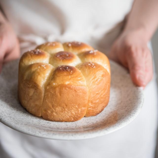 ちぎりパン BY ORANGE PAGE(小)(塩バター)【冷凍】