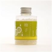 日本の香り◆アロマバスソルト柚子100g≪ミネラル豊富天然岩塩使用≫