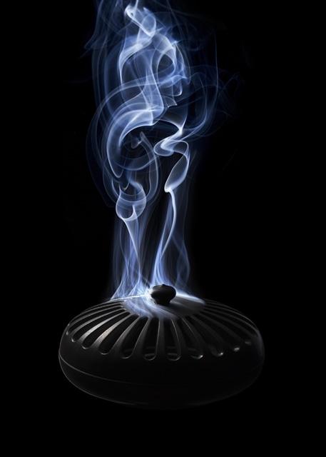 線香炉 炭
