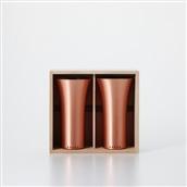 純銅製タンブラー 2個セット マット