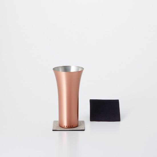 純銅製タンブラー マット