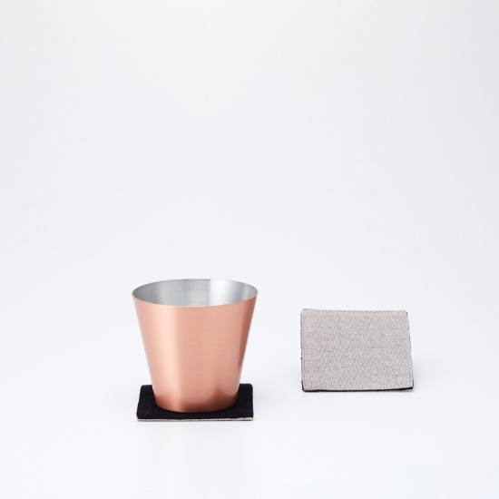 純銅製カップ マット