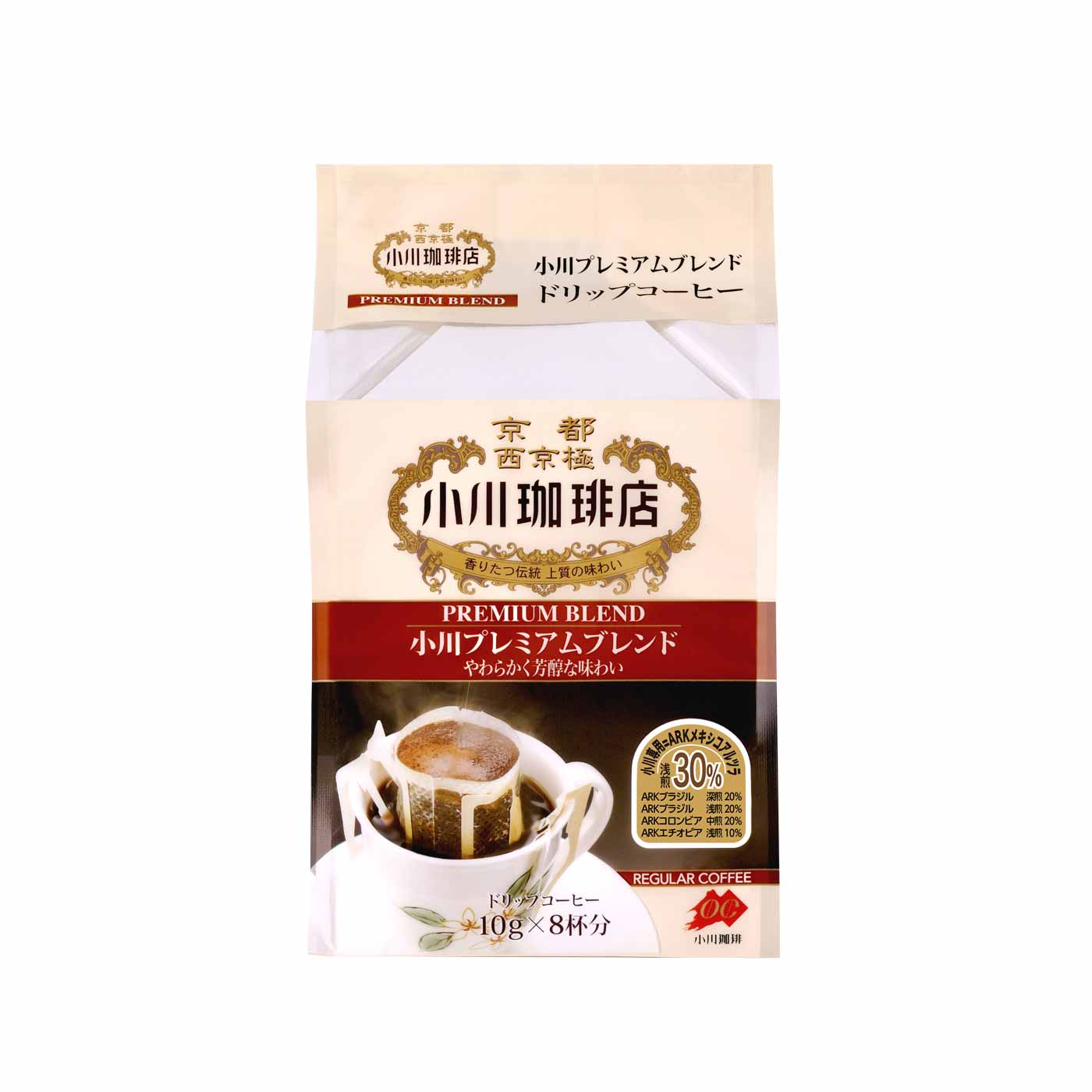 小川プレミアムブレンドドリップコーヒー<:V01229999028:>