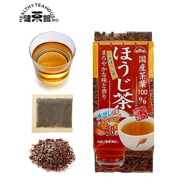 健茶館 国産茶葉 ほうじ茶30p<:V01530999028:>