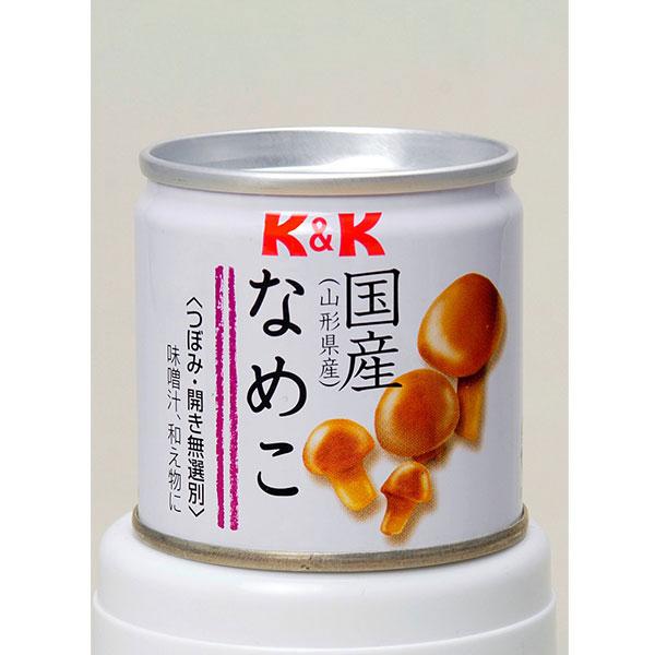 [山形県]K&K 国産なめこ水煮 EO缶<:V01099999028:>