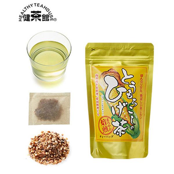 [北海道]健茶館 とうもろこしのひげ茶12p<:V01538999028:>