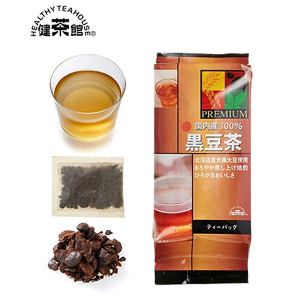[北海道]健茶館プレミアム 国内産黒豆茶18p<:V01541999028:>