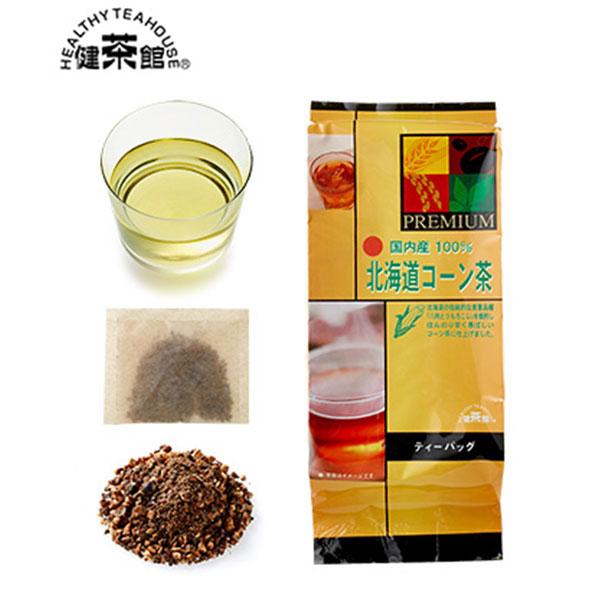 [北海道]健茶館プレミアム 国内産北海道コーン茶14p<:V01547999028:>