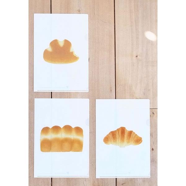 [東京都]パンのクリアファイルセット<:V02011999028:>