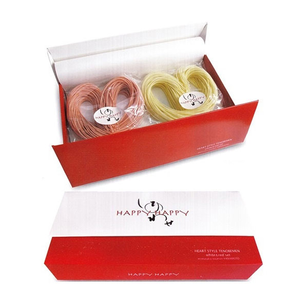 紅白ハート形手延べ素麺<:V02492999028:>