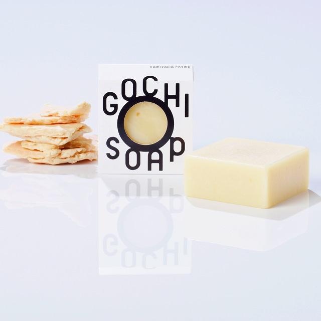 [北海道]GOCHI SOAP〜中富良野 地酒「法螺吹」の酒粕ソープ<:V03681999028:>