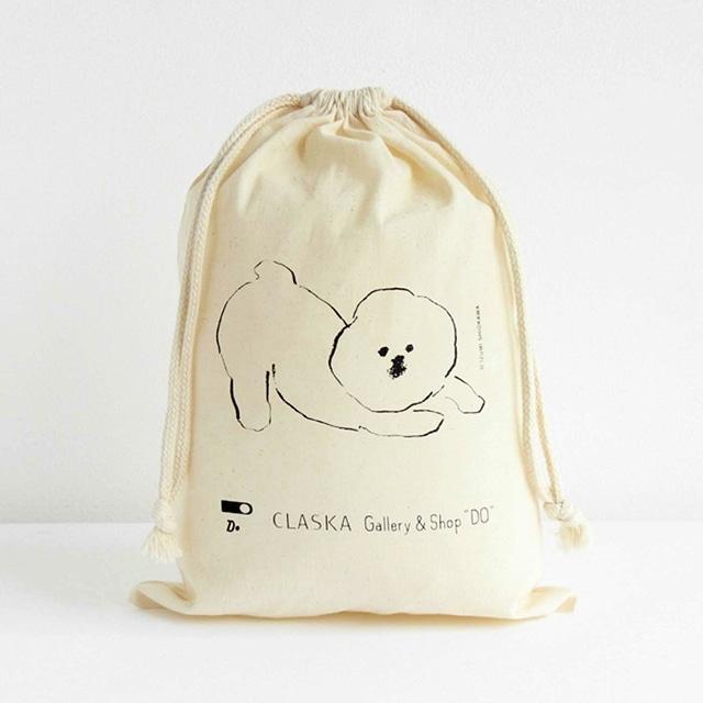 MAMBO コットン巾着 Mサイズ<:V05996999028:>