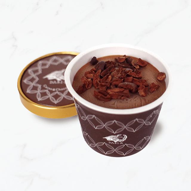 カカオが香るチョコレート・アイスクリームセット(8個入・送料込)