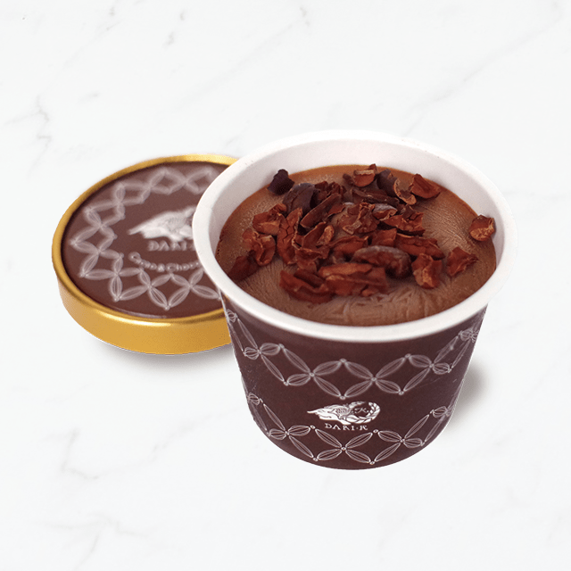 <2020VW>カカオが香るチョコレート・アイスクリームセット(8個入・送料込)