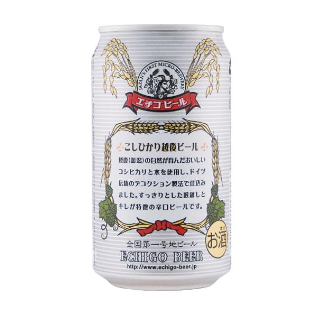 エチゴビール こしひかり越後ビール350ml×1ケース