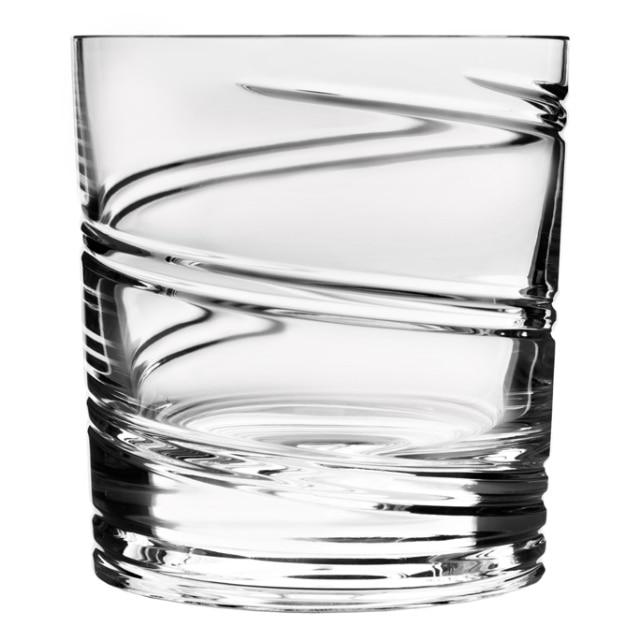 回転するグラス ショトックスクリスタル スパイラル