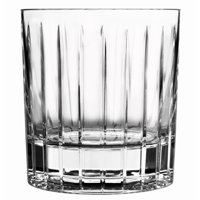 回転するグラス ショトックスクリスタル ストライプ