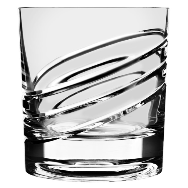 回転するグラス ショトックスクリスタル ループ