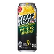−196℃ ストロングゼロビターレモン500ml×24