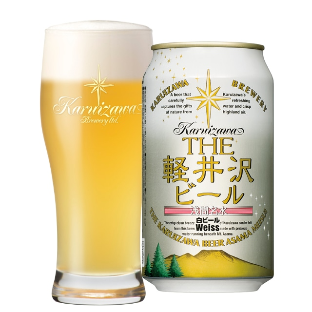 THE軽井沢ビール 白ビール<ヴァイス>350ml×1ケース