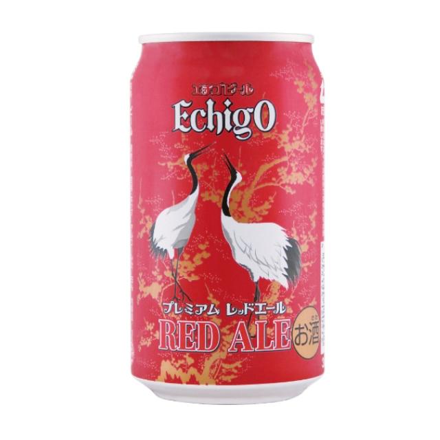 エチゴビール レッドエール350ml×1ケース