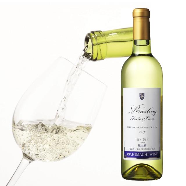 朝日町ワイン リースリングフォルテ&リオン 720ml
