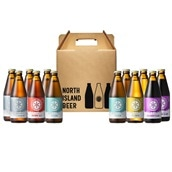ノースアイランドビール5種飲み比べ12本SET 送料込