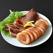 小豆嶋漁業 三陸産真イカ沖漬け3パック 送料無料