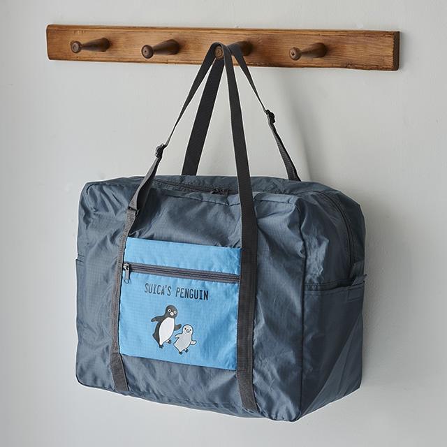 Suicaのペンギン パッカブルボストン ブルー