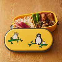 Suicaのペンギン お弁当箱 GEL・COOLドーム ペンギンとふくろう
